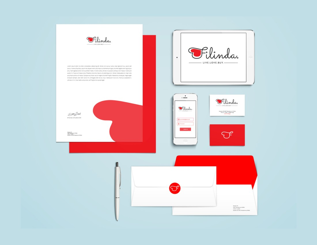 Filinda Corporate Identity