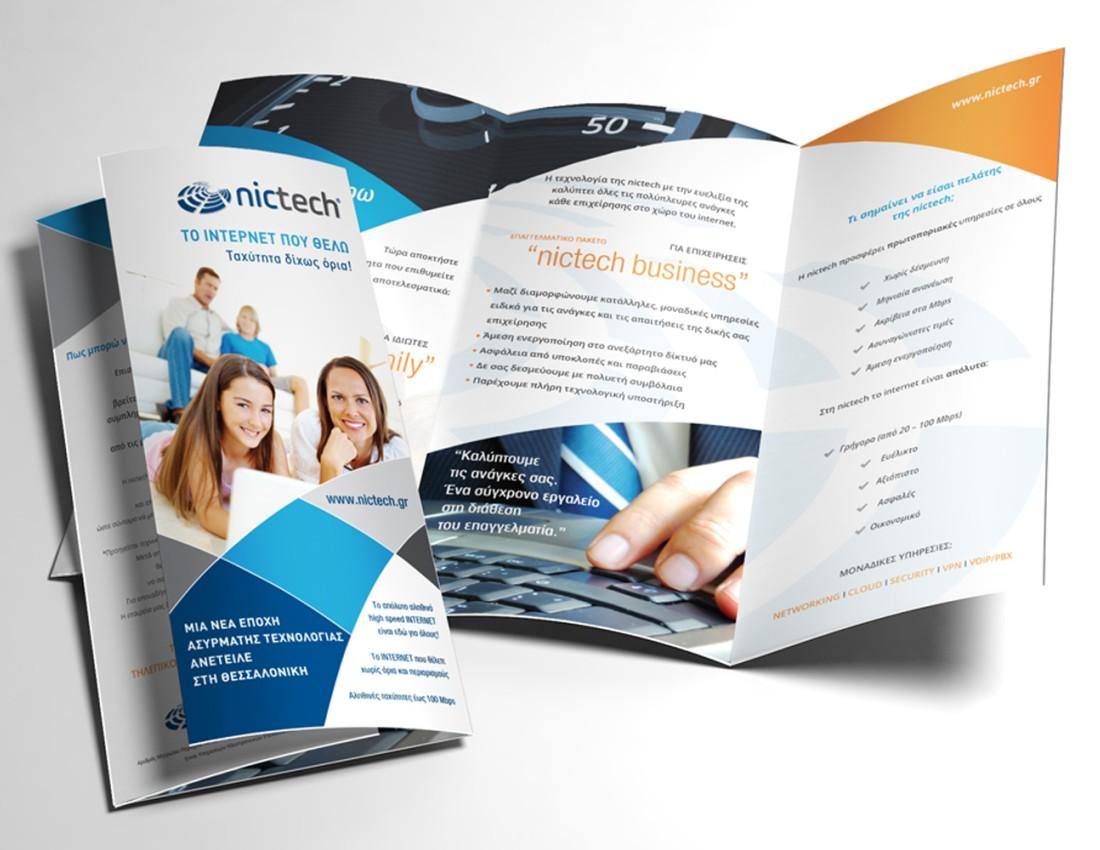 Nictech Brand Identity Brochure