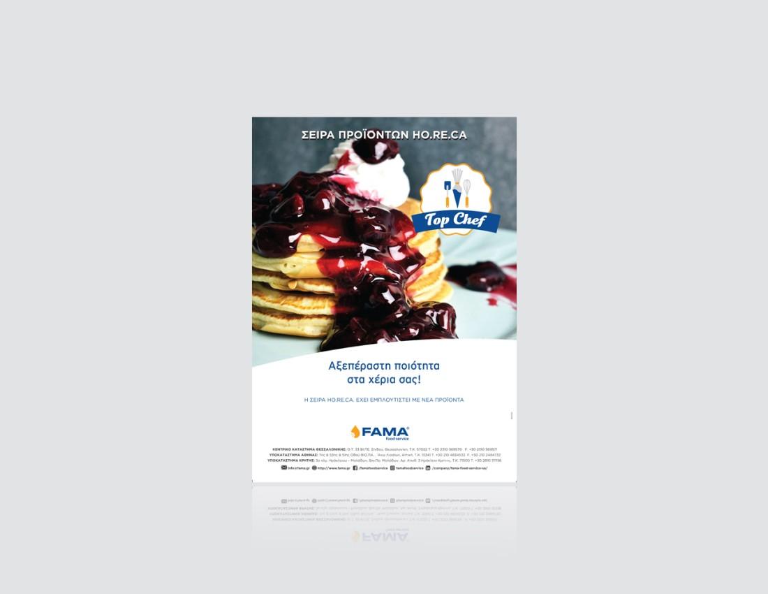 Top Chef Advert